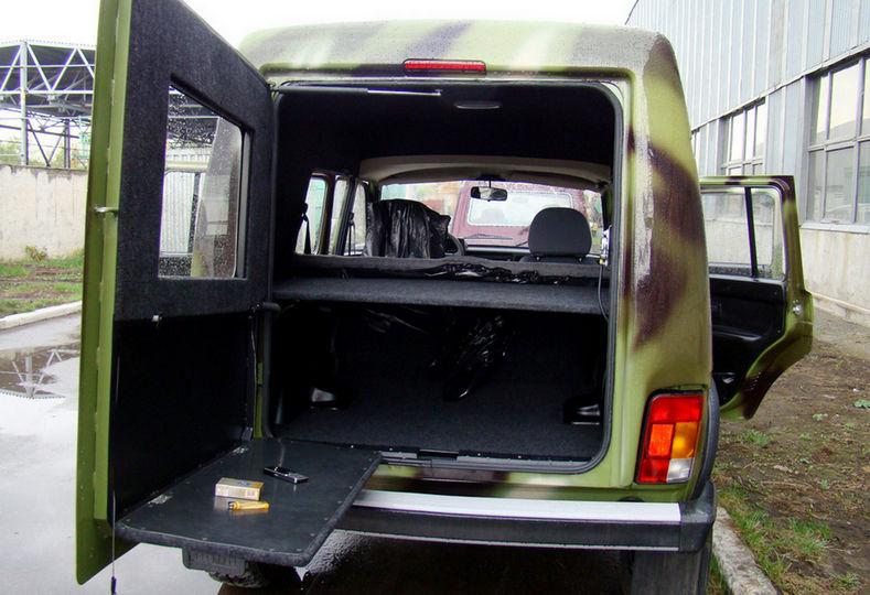 Багажник Автомобиля Нива Рысь